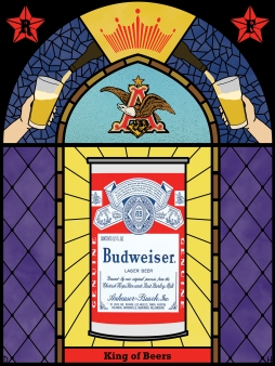 Budweiser Stained Glass